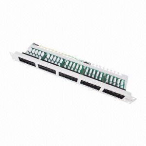 50-Port Voice Patch Panel in Cat3 pictures & photos
