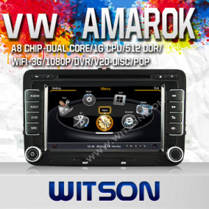 Witson DVD for Volkswagen Golf (MK6) (2009-2011) /Golf (MK5) (2003-2009) /Polo (MK5) (2010-2010) /Passat (MK7) (2010-2011) (W2-C004) pictures & photos