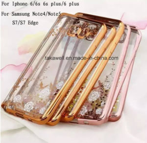 Luxury Mirror Electroplating Soft Clear TPU Phone Cases for Samsung S7/S7 Edge Mobile Back Cover Case pictures & photos