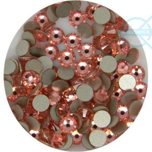 1440PCS Crystal Rhinestones Flatback Light Peach Ss8 (2.4mm) No Hotfix pictures & photos