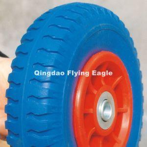 260X70 Flat Free PU Foam Wheel pictures & photos