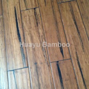 Distressed Mocha Strand Woven Bamboo Flooring