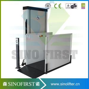 Outdoor Disable Vertical Wheelchair Lift for Disabled People pictures & photos
