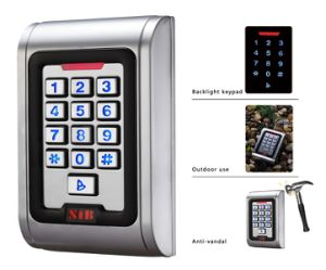IP68 Classic Metal Waterproof Access Control with Bcaklit Keypad pictures & photos