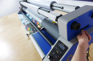 MEFU MF1700-M1 PRO Roll to Roll Paper Laminator Machine for Cold Laminating pictures & photos