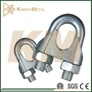 Malleable Galvanized Commercial Type Wire Rope Clip DIN741 pictures & photos