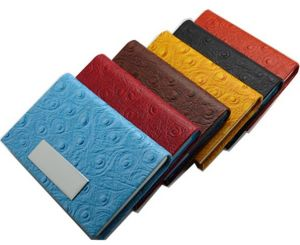 Leather Product Business Card Case for Promotion pictures & photos