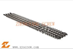Twin Parallel Screw for Extruding Barrel Foam Material pictures & photos