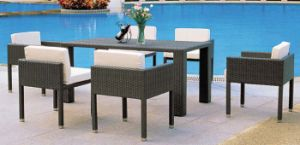 Modern Design Garden Furniture Outdoor Wicker Table and Chairs pictures & photos