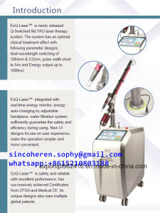 Picolaser Powerful Professional Q Switched ND YAG Laser Ce FDA pictures & photos