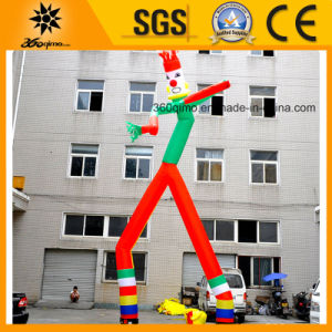 2017 Popular Cheap Inflatable Colorful Dancing Clown