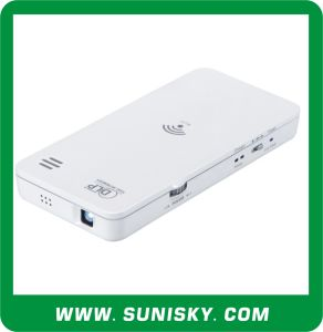 SMP6500 Mini WiFi DLP Projector, Support Smartphone, Tablet PC, Laptop for Business Meeting pictures & photos