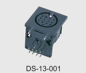 13 Pins DIN Connector (DS-13-001) pictures & photos