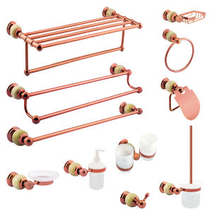 Brass Sanitary Ware Bathroom Accessories Sets pictures & photos
