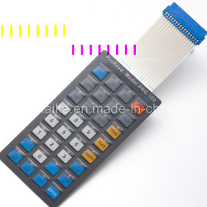 Pet Membrane Keypad with Transparent Window pictures & photos