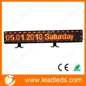 Hot Promotion New Technology Products 16X128dots Taxi Rear Window LED Display