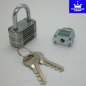 Colourful Laminated Padlock Without Cylinder (1502) pictures & photos