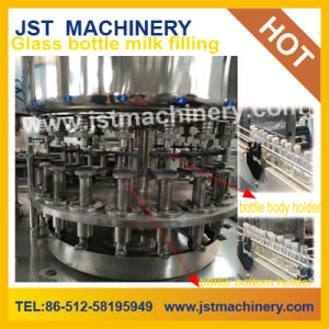 Automatic Glass Bottle Milk Bottling Machine pictures & photos