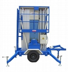 Double Mast Alloy Aluminum Hydraulic Working Platform /Lift Table pictures & photos