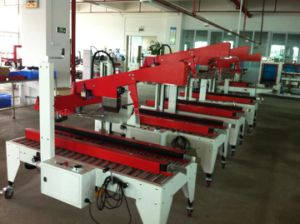 Yupack Hot Selling Model Automatic Carton Sealing Machine (FXJ-AT5050) pictures & photos