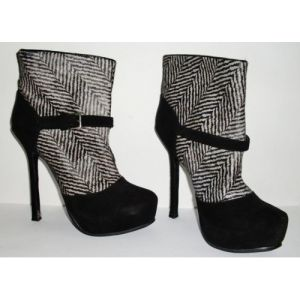 New Style Fashion High Heel Dress Boots (HCY02-016) pictures & photos