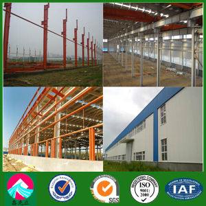 Painted Light Steel Frame Workshop Design and Construction (XGZ-SSB151) pictures & photos