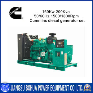 200kVA Cummins Series Chinese Engine Diesel Generator Set
