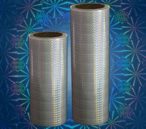 Holographic BOPP Thermal Laminating Film (3D true color holographic) pictures & photos