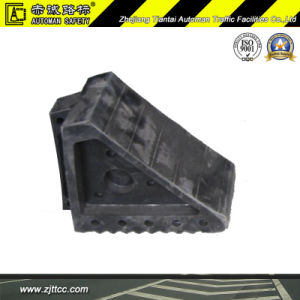 Industrial Rubber Car Wheel Stopper Localizer (CC-D16) pictures & photos
