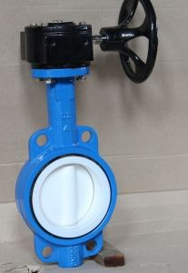 Pneumatic Actuator Butterfly Valve (PTFE/NBR Sealling) pictures & photos