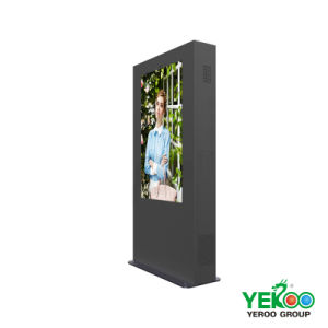 Advertising Display Sunlight Readable Outdoor Floor Standing Digital Signage pictures & photos