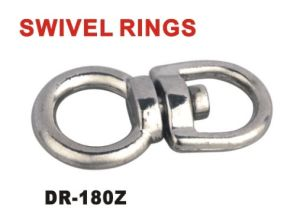 Side Eye to Round Eye Zinc Alloy Swivel Ring pictures & photos