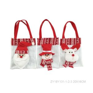 Christmas Gift Doll Santa Claus Decoration Christmas Kid Bag pictures & photos