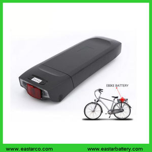 Rear-Mounted Electric Bike Battery 48V 14ah Lithium Battery with 18650 Battery Cell pictures & photos