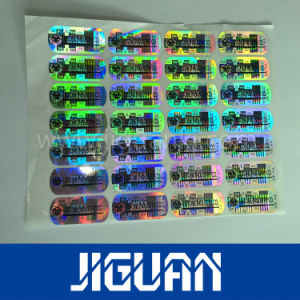 Pet 3D 2d Hologram Anti-Counterfeiting Label Sticker pictures & photos
