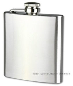 Stainless Steel Whisky Liquor Hip Flask (R-HF020) pictures & photos