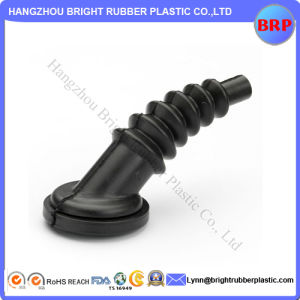 Customized Black Flexible NBR Molded Rubber Bellow pictures & photos