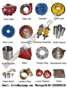 China Industrial Water Pump Spare Machining Parts pictures & photos
