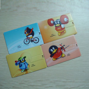 Credit Card USB Flash Drive 8GB Pendrive 4G USB Stick 16g USB Card (TF-0427) pictures & photos