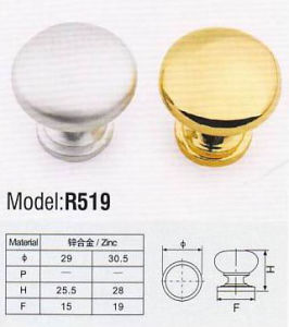 R519 Colorful Hardware Zinc Furniture Handle pictures & photos