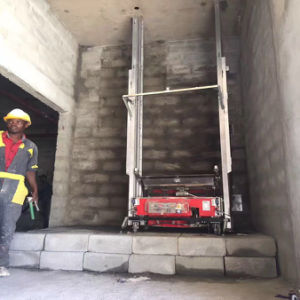 Cement Mortar Spray Machine/Automatic Rendering Machines pictures & photos