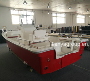 Liya 5.8m Fiberglass Speed Boat Panga Fishing Boat Ce Approved pictures & photos