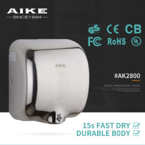 Wall Mounted Bathroom Air Hand Dryer, Stainless Steel Bathroom Hand Dryer Ak2800 pictures & photos
