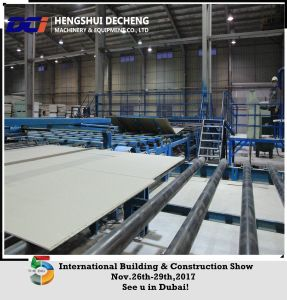 China Gypsum Ceiling Board Making Machinery (gas/oil/coal type) pictures & photos
