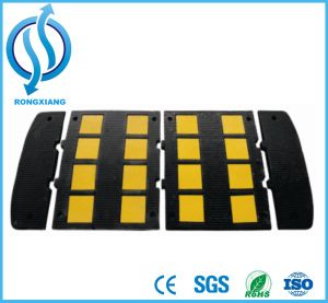 Sleeping Policeman Rubber Speed Hump for Eurpoe Market pictures & photos