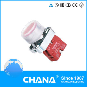 AC 380V Flush Button Spring Return Pushbutton Switch pictures & photos
