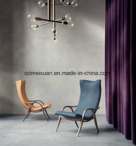Signature Chair Nordic Sofa Chair, Leisure Chair Solid Wood Cloth Art Sofa (M-X3746) pictures & photos