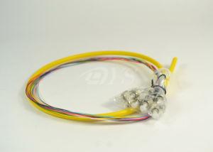 FC/Upc 12 Color Bundle Fiber Pigtail 0.9mm pictures & photos