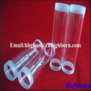 Screw Thread Fused Silica Quartz Glass Tubing pictures & photos