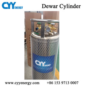 175L High Quality Cryogenic Lox Lin Lar Lco2 Dewar Gas Cylinder pictures & photos